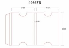 49867B - (61+6+60,6) x 89